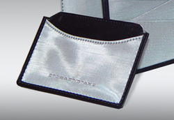 Woven Stainless Steel Business Card Holder