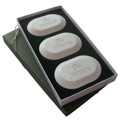 Personalized Triple-Milled Soaps