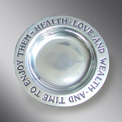 Pewter Health Plate