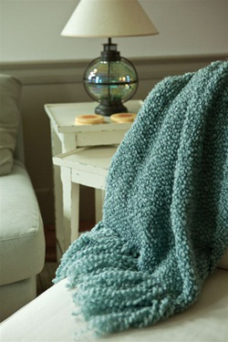 Woven Afghan Throws