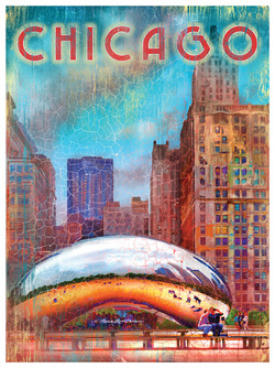 Chicago-Themed Art Posters