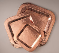 Recycled Copper Trays