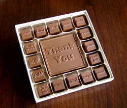Chocolate Thank You Box